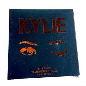 New Kylie Jenner Pressed Powder Palette The Bronze Palette Full Size Nine colors